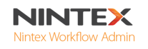 Nintex Workflow Admin